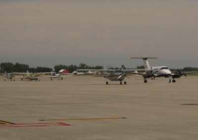 Airplanes on Ramp